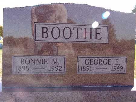 BOOTHE, BONNIE M. - Warren County, Iowa   BONNIE M. BOOTHE