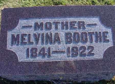 BOOTHE, MELVINA - Warren County, Iowa | MELVINA BOOTHE