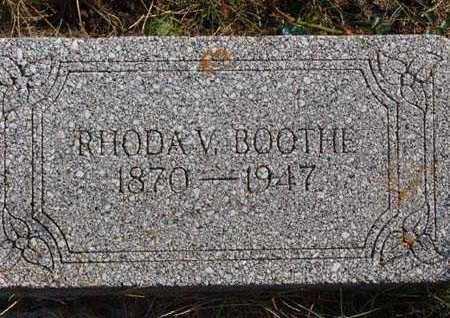 BOOTHE, RHODA V. - Warren County, Iowa | RHODA V. BOOTHE