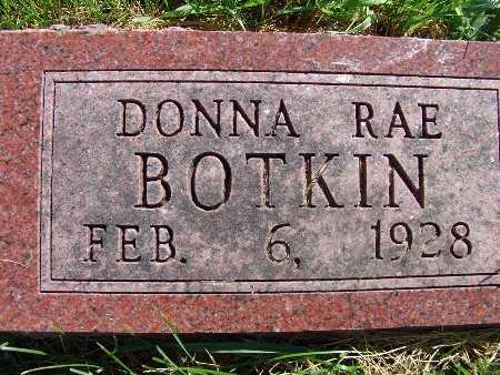 BOTKIN, DONNA RAE - Warren County, Iowa   DONNA RAE BOTKIN