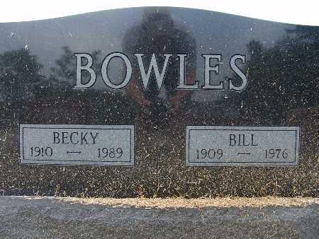 BOWLES, BECKY - Warren County, Iowa | BECKY BOWLES