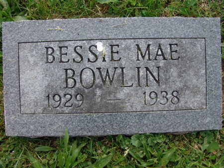 BOWLIN, BESSIE MAE - Warren County, Iowa   BESSIE MAE BOWLIN