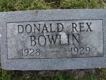 BOWLIN, DONALD REX - Warren County, Iowa | DONALD REX BOWLIN