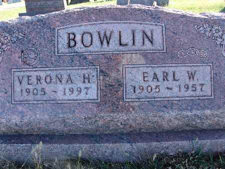 BOWLIN, EARL W. - Warren County, Iowa | EARL W. BOWLIN