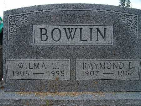 BOWLIN, RAYMOND L. - Warren County, Iowa | RAYMOND L. BOWLIN