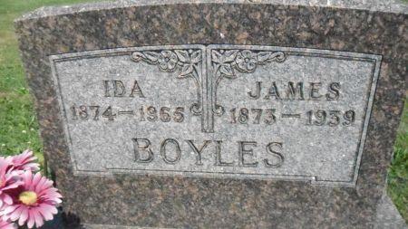 BOYLES, IDA - Warren County, Iowa | IDA BOYLES