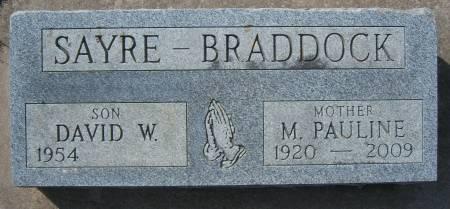 BRADDOCK, M. PAULINE - Warren County, Iowa | M. PAULINE BRADDOCK