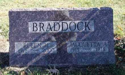 BRADDOCK, RUBEN H. - Warren County, Iowa | RUBEN H. BRADDOCK