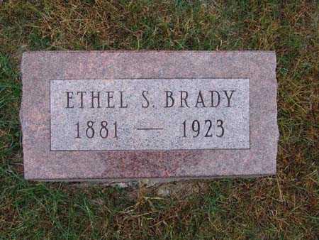 BRADY, ETHEL S. - Warren County, Iowa | ETHEL S. BRADY