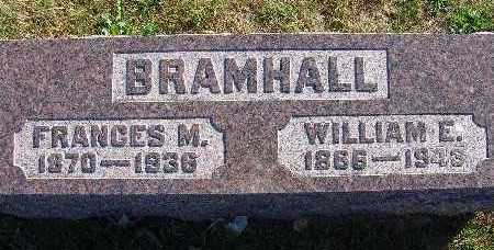 BRAMHALL, WILLIAM E. - Warren County, Iowa | WILLIAM E. BRAMHALL