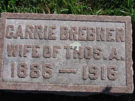 BREBNER, CARRIE - Warren County, Iowa   CARRIE BREBNER