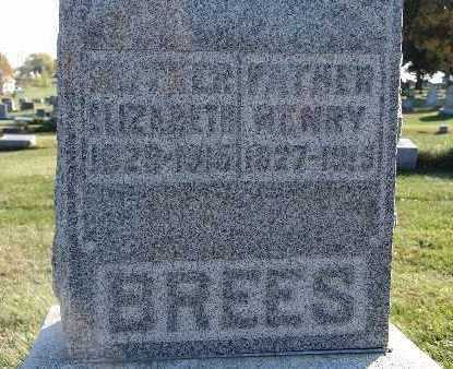 BREES, ELIZABETH - Warren County, Iowa | ELIZABETH BREES