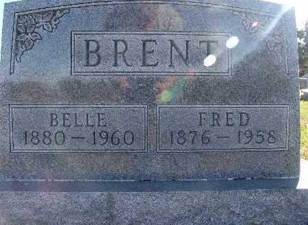 BRENT, FRED - Warren County, Iowa | FRED BRENT