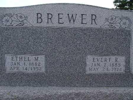 BREWER, ETHEL M. - Warren County, Iowa | ETHEL M. BREWER