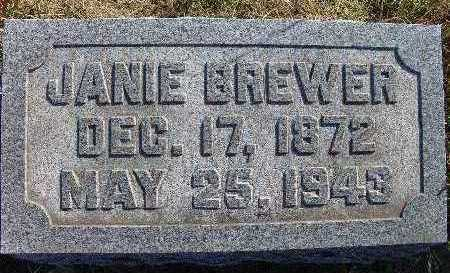 BREWER, JANIE - Warren County, Iowa | JANIE BREWER