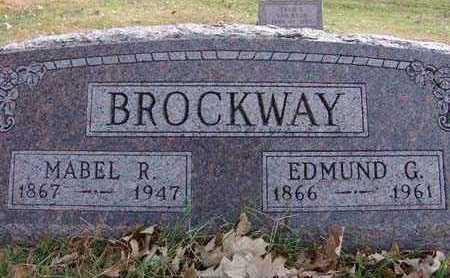 BROCKWAY, EDMUND G. - Warren County, Iowa | EDMUND G. BROCKWAY