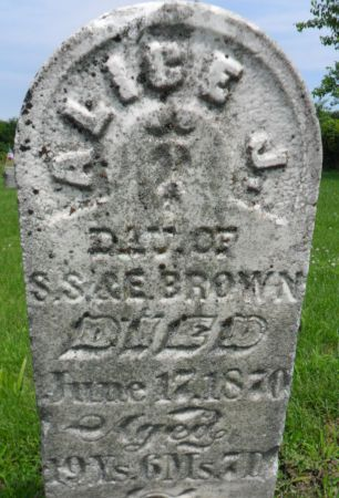 BROWN, ALICE J. - Warren County, Iowa   ALICE J. BROWN