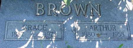 BROWN, ARTHUR - Warren County, Iowa | ARTHUR BROWN