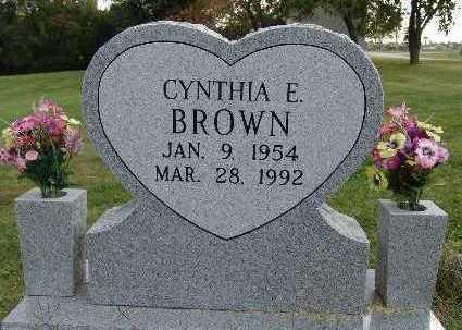 BROWN, CYNTHIA E. - Warren County, Iowa | CYNTHIA E. BROWN