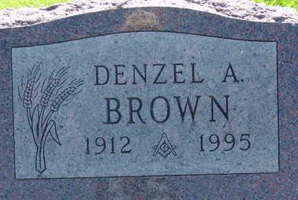 BROWN, DENZEL A - Warren County, Iowa | DENZEL A BROWN