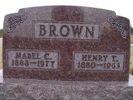 BROWN, HENRY T. - Warren County, Iowa | HENRY T. BROWN