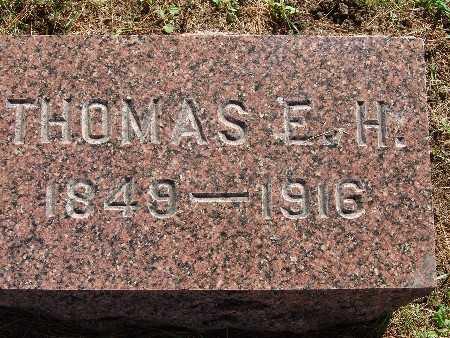 BROWN, THOMAS E. H. - Warren County, Iowa | THOMAS E. H. BROWN