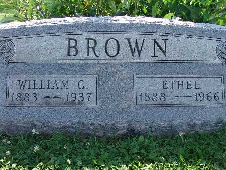 BROWN, WILLIAM G. - Warren County, Iowa | WILLIAM G. BROWN