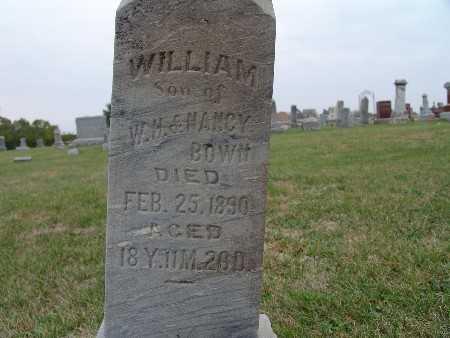 BOWN, WILLIAM - Warren County, Iowa | WILLIAM BOWN