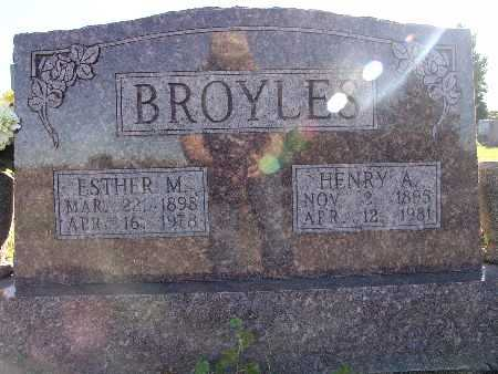 BROYLES, ESTHER M. - Warren County, Iowa | ESTHER M. BROYLES
