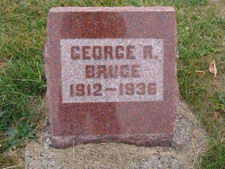 BRUCE, GEORGE R. - Warren County, Iowa   GEORGE R. BRUCE
