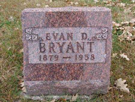 BRYANT, EVAN D. - Warren County, Iowa | EVAN D. BRYANT