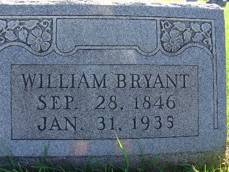 BRYANT, WILLIAM - Warren County, Iowa   WILLIAM BRYANT