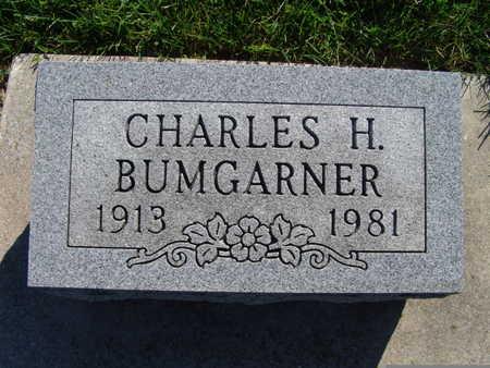 BUMGARNER, CHARLES H - Warren County, Iowa   CHARLES H BUMGARNER