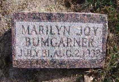 BUMGARNER, MARILYN JOY - Warren County, Iowa   MARILYN JOY BUMGARNER