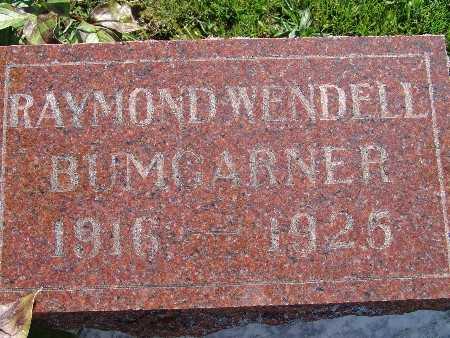 BUMGARNER, RAYMOND WENDELL - Warren County, Iowa | RAYMOND WENDELL BUMGARNER