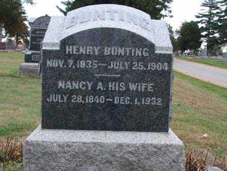 BUNTING, HENRY - Warren County, Iowa | HENRY BUNTING