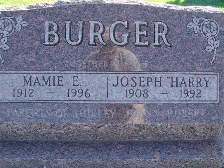 BURGER, JOSEPH HARRY - Warren County, Iowa | JOSEPH HARRY BURGER