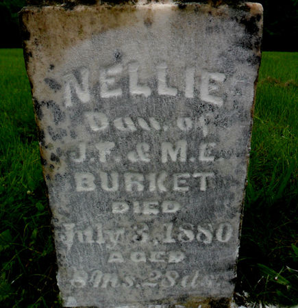 BURKET, NELLIE - Warren County, Iowa | NELLIE BURKET