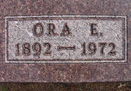 BURKEY, ORA E. - Warren County, Iowa | ORA E. BURKEY
