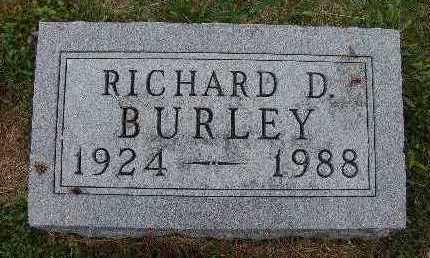 BURLEY, RICHARD D. - Warren County, Iowa | RICHARD D. BURLEY