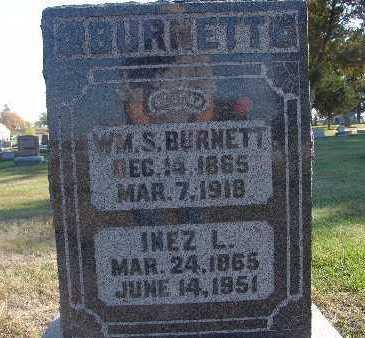 BURNETT, WM. S. - Warren County, Iowa | WM. S. BURNETT