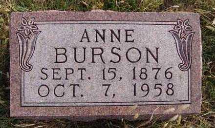 BURSON, ANNE - Warren County, Iowa | ANNE BURSON