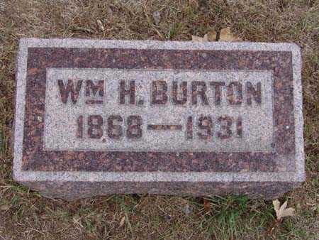 BURTON, WM. H. - Warren County, Iowa | WM. H. BURTON