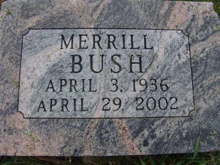 BUSH, MERRILL - Warren County, Iowa | MERRILL BUSH