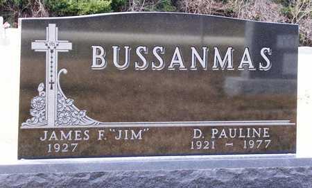 BUSSANMAS, JAMES F.  (JIM) - Warren County, Iowa   JAMES F.  (JIM) BUSSANMAS