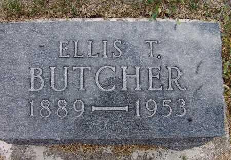 BUTCHER, ELLIS T. - Warren County, Iowa   ELLIS T. BUTCHER