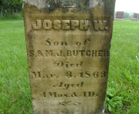 BUTCHER, JOSEPH W. - Warren County, Iowa | JOSEPH W. BUTCHER