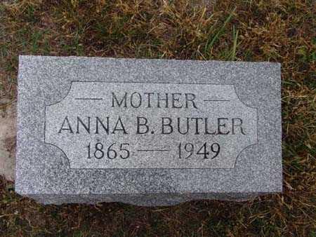 BUTLER, ANNA B. - Warren County, Iowa | ANNA B. BUTLER