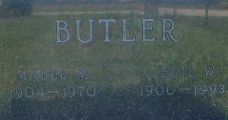BUTLER, CECIL W - Warren County, Iowa | CECIL W BUTLER
