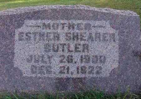 BUTLER, ESTHER - Warren County, Iowa | ESTHER BUTLER